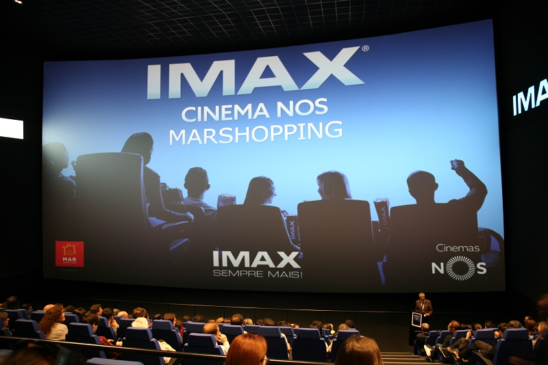 cinema IMAX ecrâ