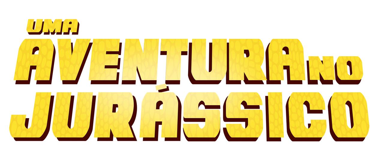 Uma aventura no Jurássico logo